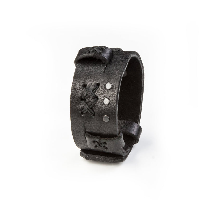 leather bracelet men The Enlightened Balance