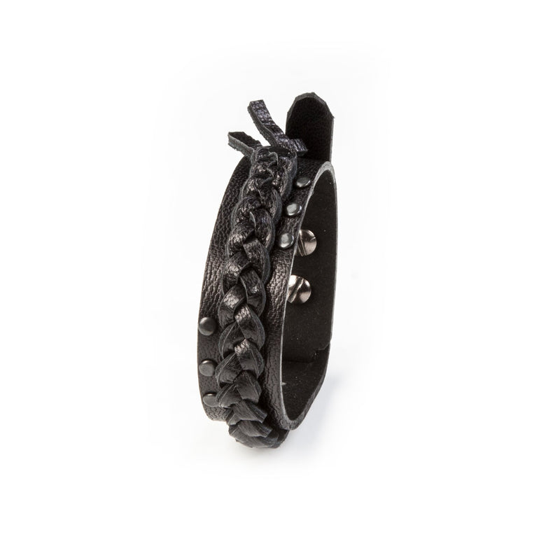 leather bracelet men The Grand Bauble