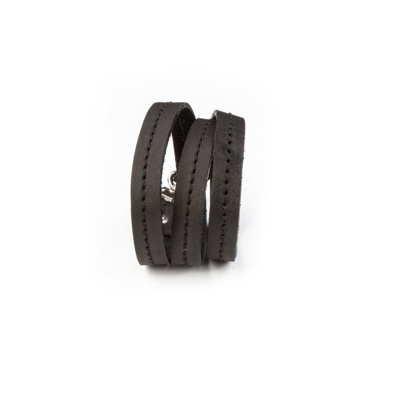 leather bracelet men The Ruby Wing