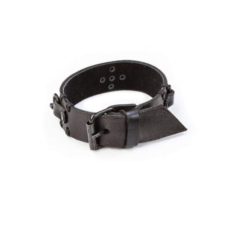 leather bracelet men The Pure Swan