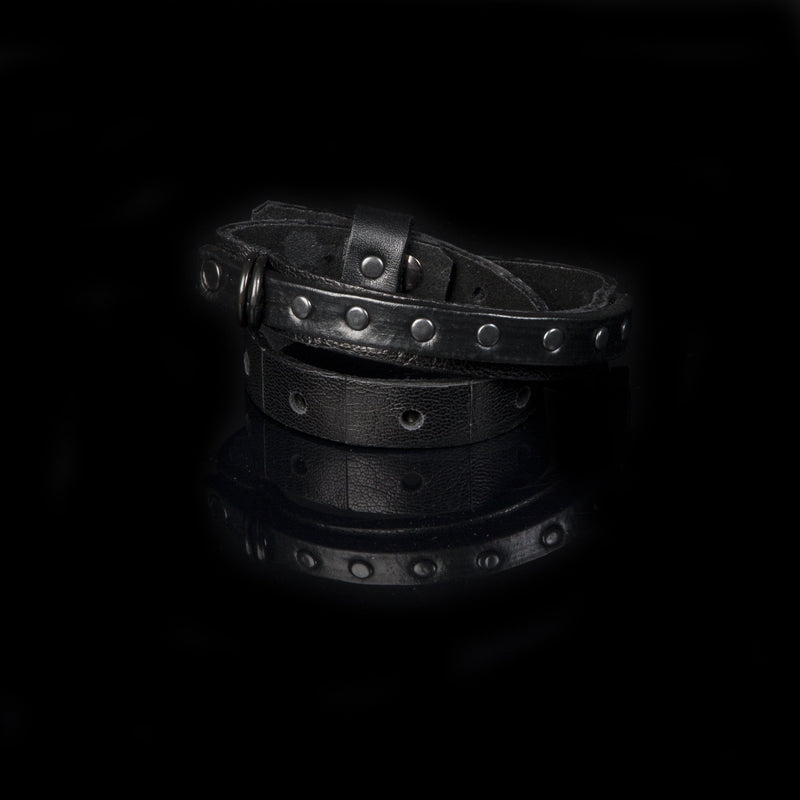 leather bracelet men The Earnest Pledge