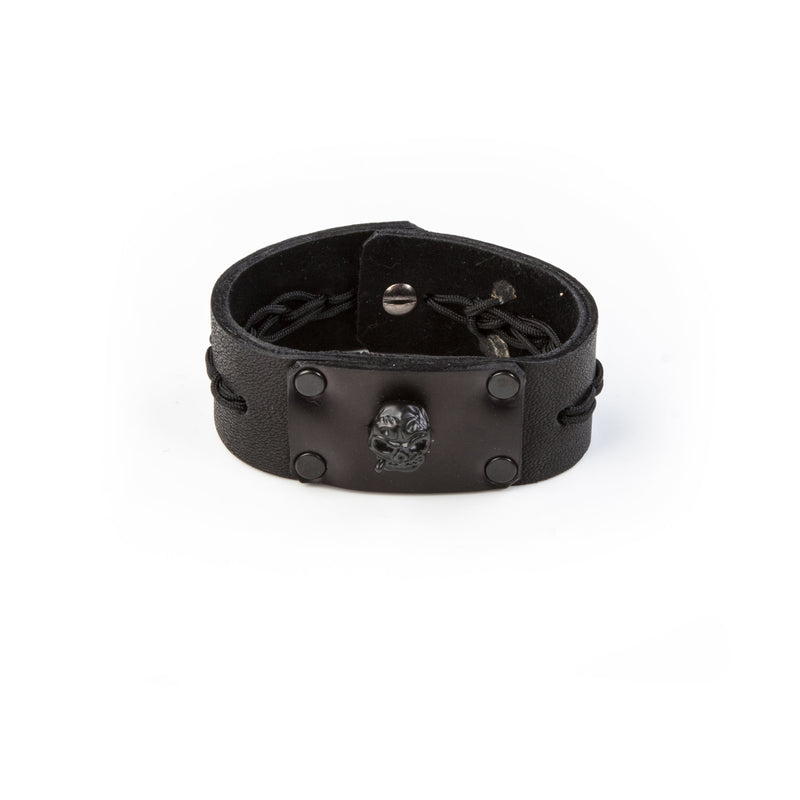leather bracelet men The Sapphire Breath