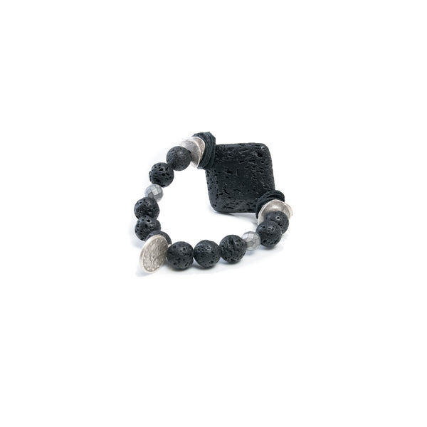 Beads bracelet The shadow panther