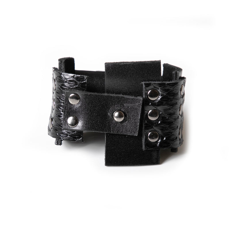Leather bracelet new The Vibrant Devotion
