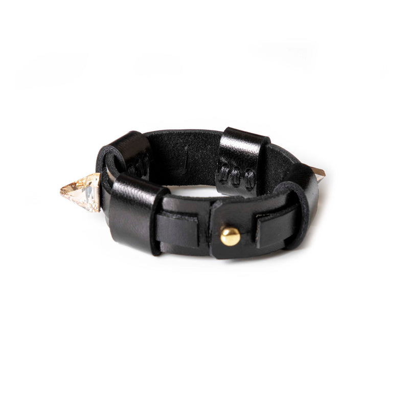 Leather bracelet new The Parallel Whisper