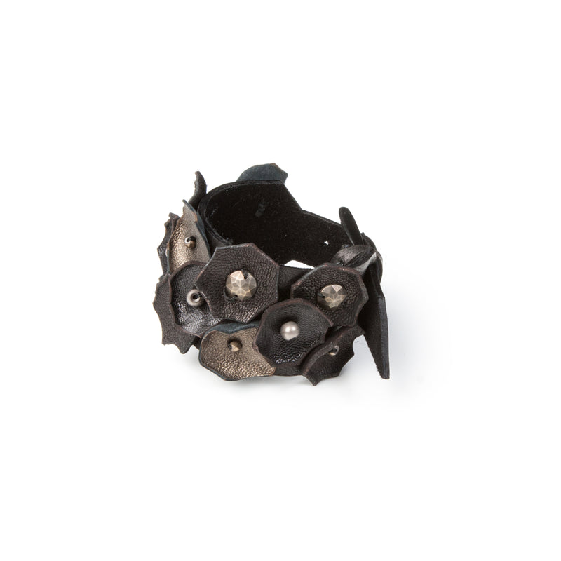 Leather bracelet new The Feline Life