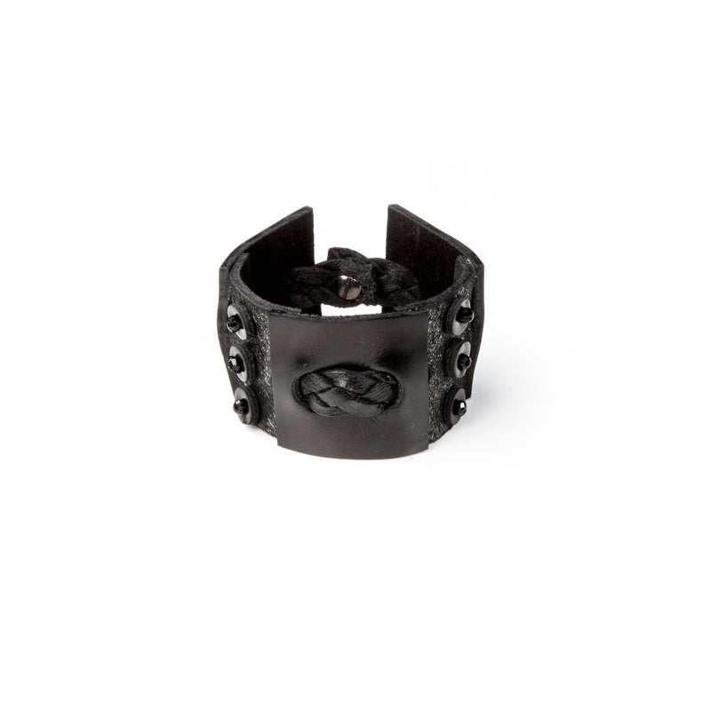 Leather bracelet new The Lunar Droplet