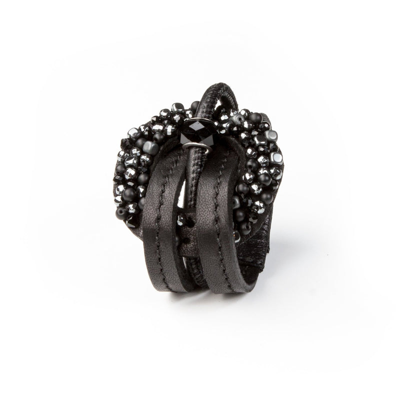 Leather bracelet new The Anonymous Blossom