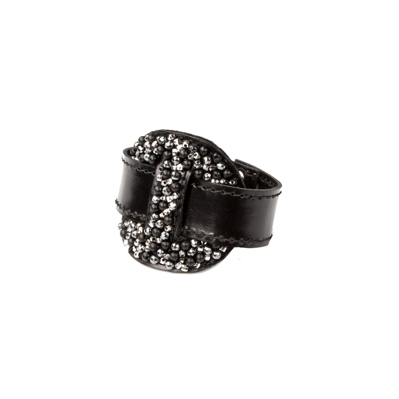 Leather bracelet new The Serpentine Crux