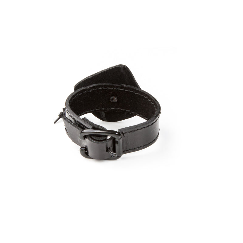 Leather bracelet new The Feline Cross