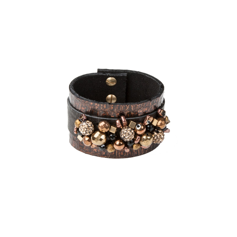 Leather bracelet new The Serene Breath