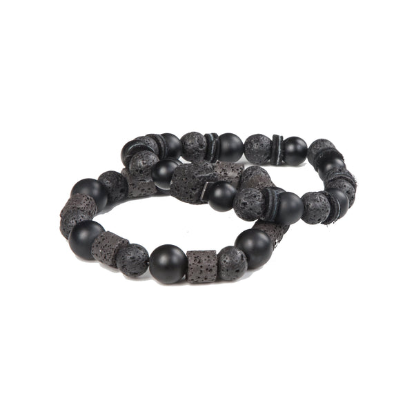 Bead bracelet men The Quiet Mind