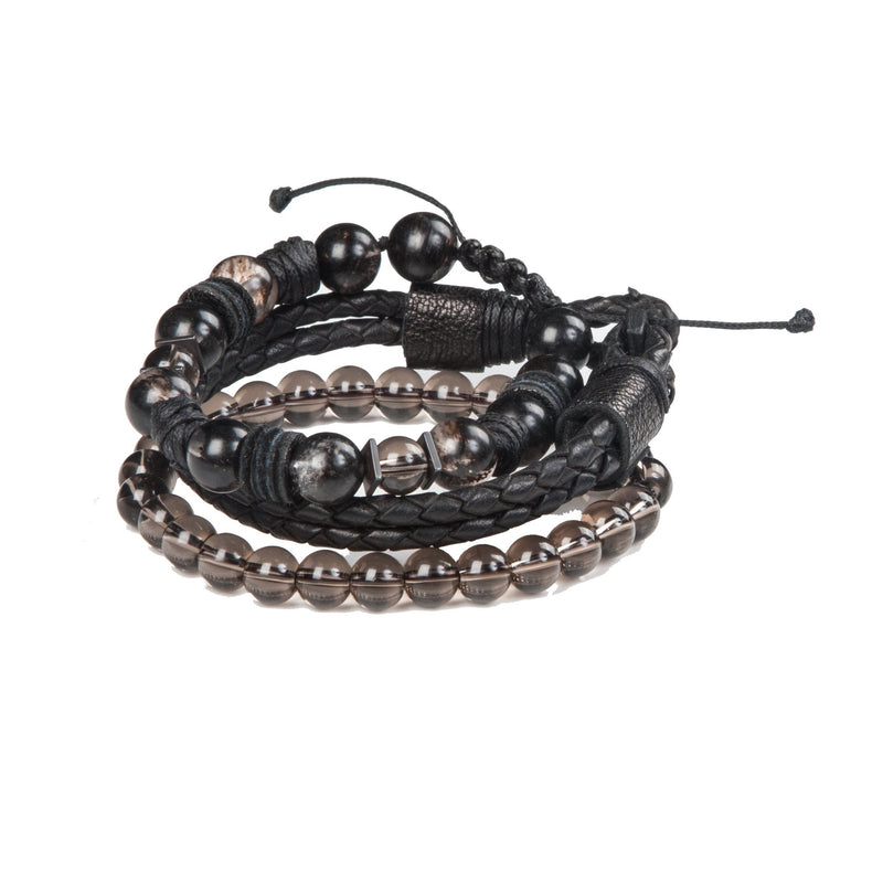 Bead bracelet men The Velvet Crux