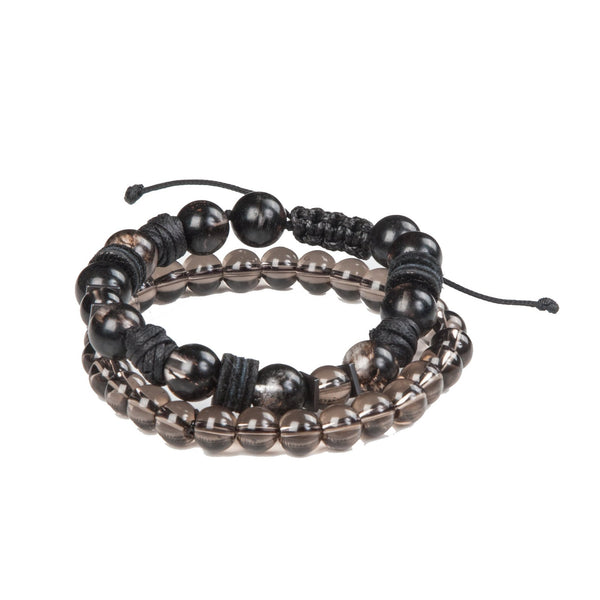 Bead bracelet men The Lunar Soul
