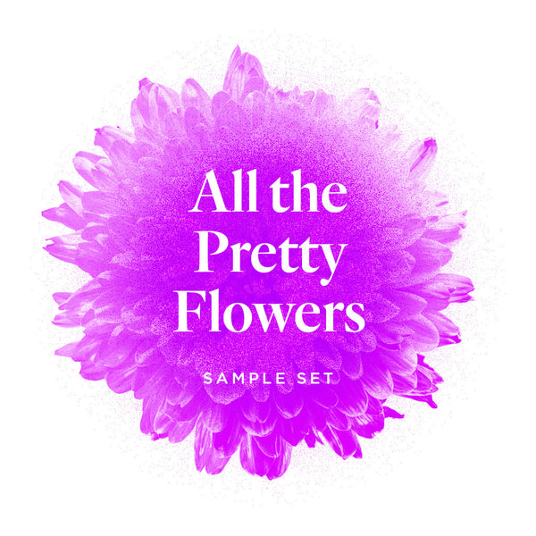All the pretty Flowers - Sample Set