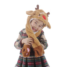 Cool new Girls Boys Kids Children`s Fun POP up Moving  EAR Animal hat - k POP -  Gifts Christmas