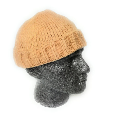 Knitted fisherman trawler Skully beanie Hat Vintage style mens womans Hipster beanie hat