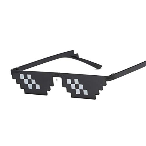 KGM Accessories New Mosaic Thug life Epic Style stepped Black Fashion Sunglasses Clout goggles glasses