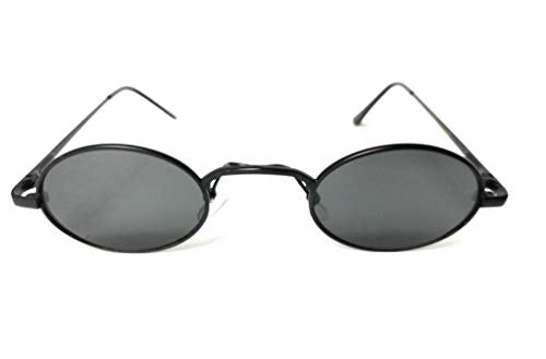 New Trend Mini Small Oval Tinted Aviator Sunglasses