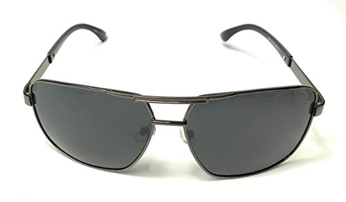 Vintage rectangular Pilot Aviation Style Polarized Designer Sunglasses - Mens polarized Sunglasses