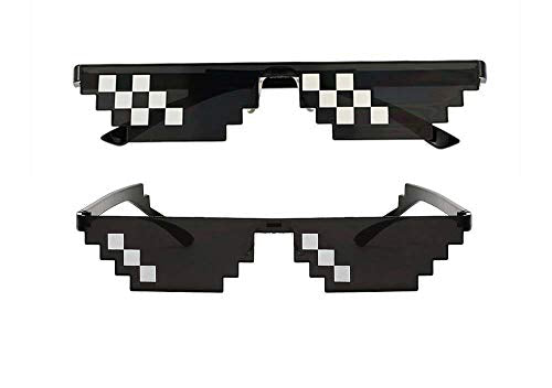 KGM Accessories New stepped Black Fashion Sunglasses - Mosaic Thug life Epic Style Clout glasses