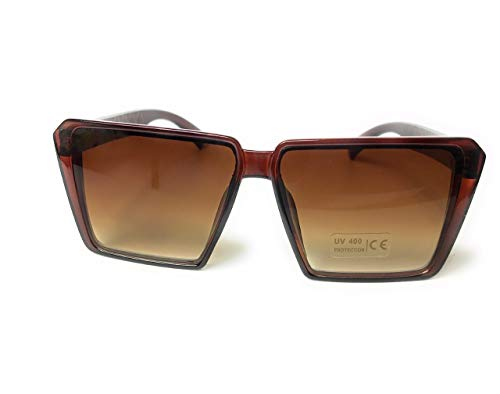 New High quality Oversize Square angle frame Designer Sunglasses