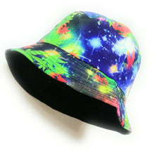 Ganja universe design  bucket sun hat  festival outdoor trending hats