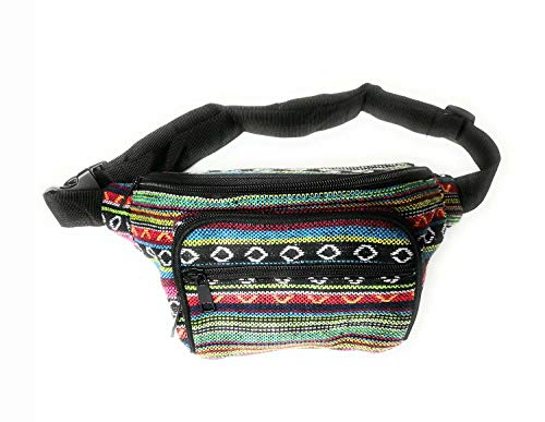 Mexican pattern Bum bag Waist bag Fanny pack - Travel Festival Bag