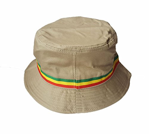 Wigwam Cool Rasta stripe Cotton Bucket hat