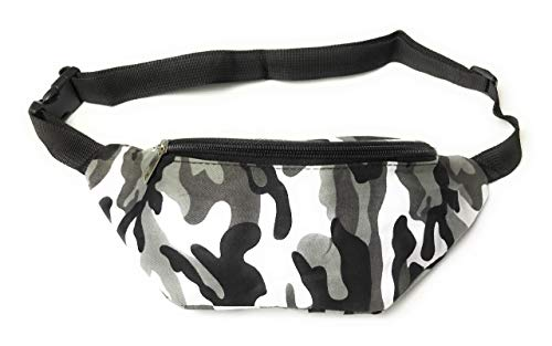 KGM Camouflage Camo print fashion Bum Bag Fanny Pack - Holiday festival travel