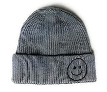 Wigwam Pastel Smiley Face fisherman trawler Skully beanie Hat Hipster Docker