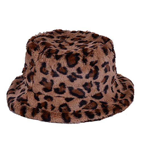 KGM Stylish New Soft Fleecy Faux Fur Bucket hat - Festival Summer Winter Hats