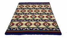 Beautiful Large heavy South American pattern Blanket throw
