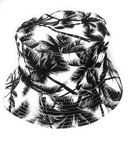 Cool Hawaiian Palm Tree print bucket style sun hat