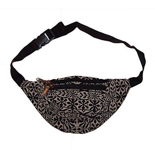 Nice Jacquard flower pattern bum bag waist bag