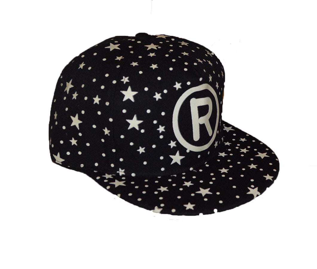 Wigwam Cool New R design luminous GLOW IN THE DARK snap back