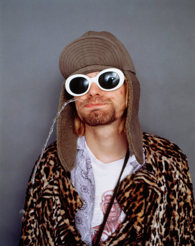 Cool Nirvana Kurt Cobain style clout sunglasses Goggles White