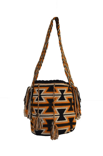 Hand made South American Wayuu Bag Mochilla Colombia