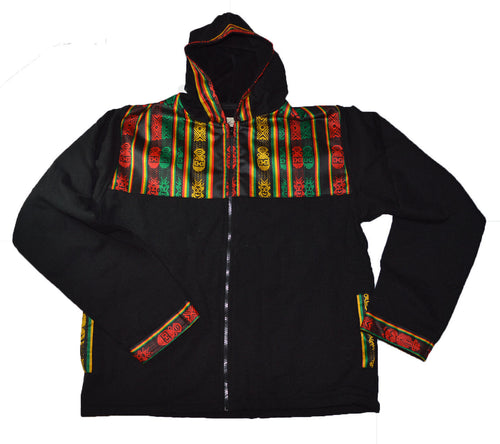 Hand made Rasta color Jacket Bob Marley Reggae Music