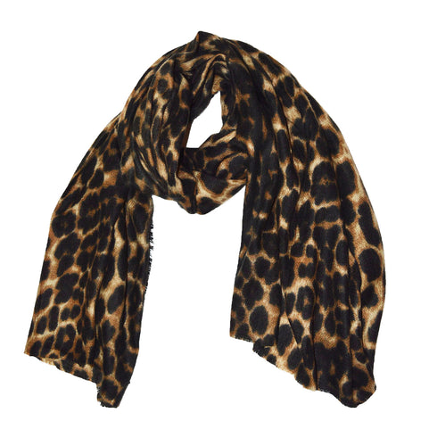 Luxury Textured Extra large super soft Leopard print scarf shawl - Over sized ladies women's leopard scarf shawl - Animal print shawl women