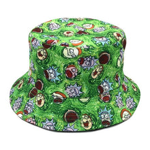 Rick and Morty Colorful New Cartoon Characters  festival outdoor holiday hats