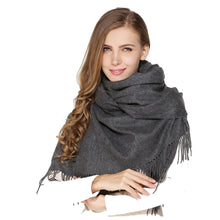 Luxury large super soft touch cashmere shawl scarf