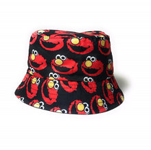 Fun  Beard cartoon print Bucket hat