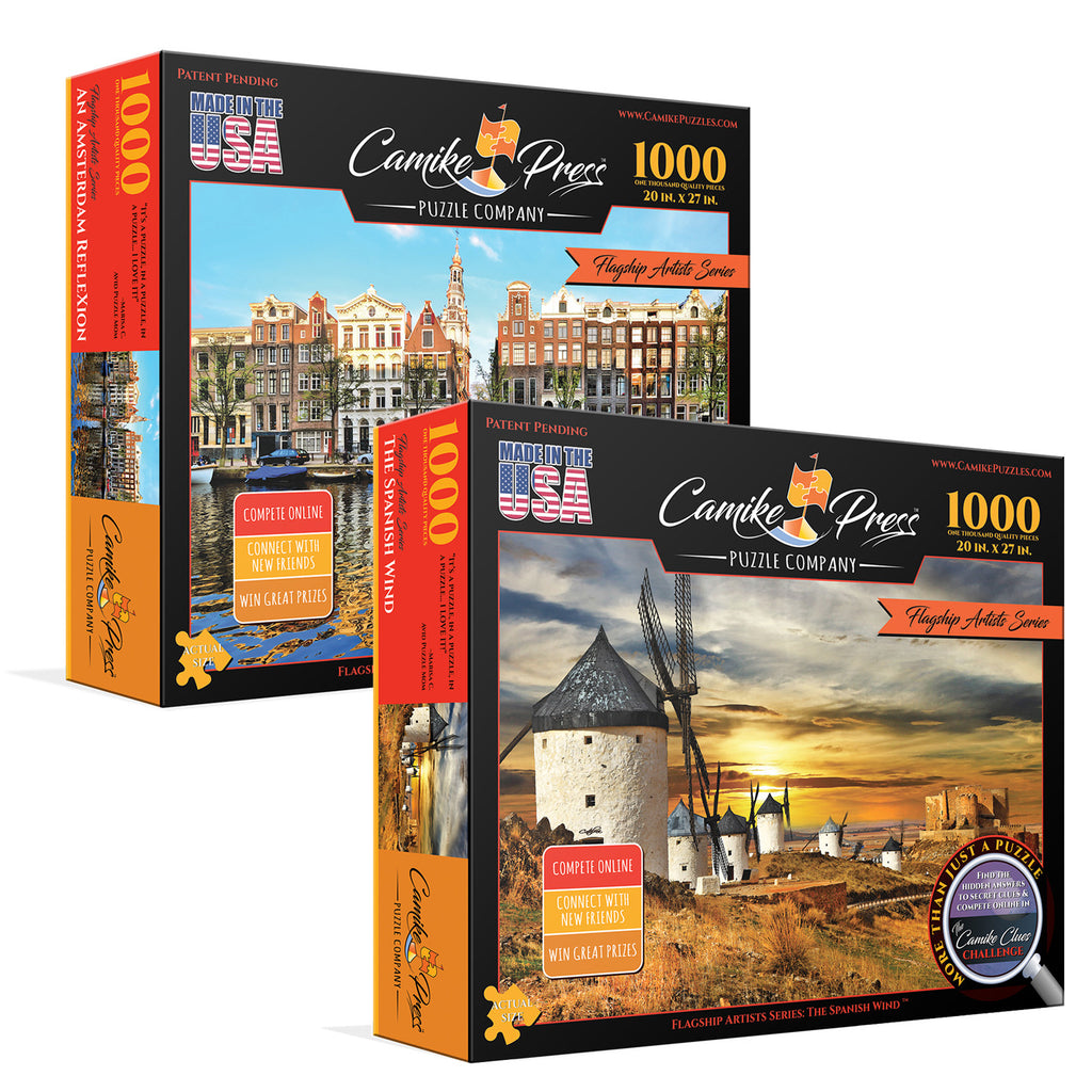 Flagship Artists Series 2-Pack - Puzzles One & Two