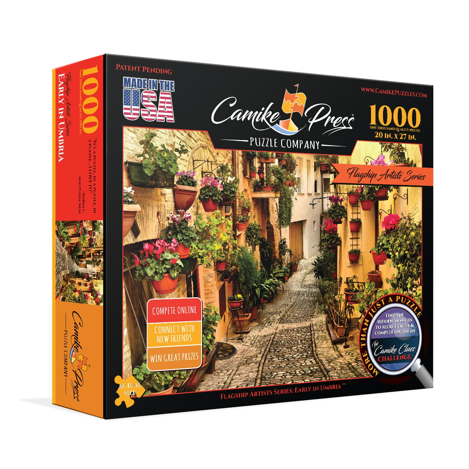 Early in Umbria 1000 Piece Jigsaw Puzzle | Camike Press Puzzle Company