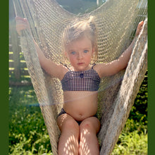 Iris Gingham Baby Swimsuit