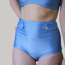 LUCY HIGH WAIST BIKINI IN PERIWINKLE