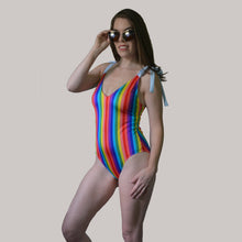 Rainbow Tie One piece