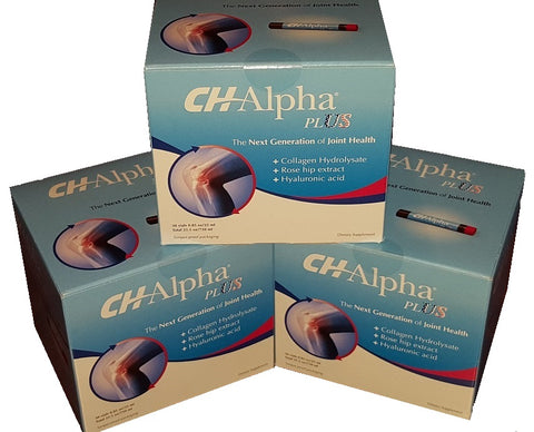CH-ALPHA PLUS - Product Expiration Date October 2019 - 3 Boxes, 90 DAY SUPPLY - Free Standard Shipping