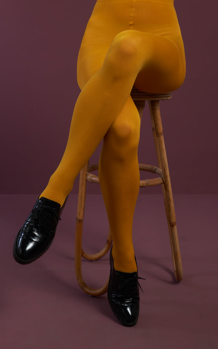 King Louie - Tights Solid Sunset Yellow
